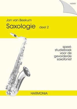 Saxologie deel 2 Jan Van Beekum Partition Saxophone - laflutedepan