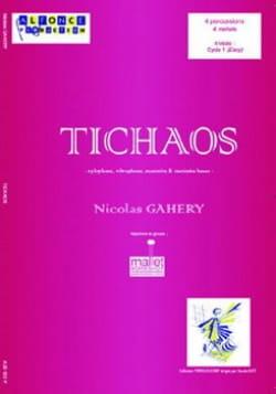 Tichaos - Nicolas Gahery - Partition - laflutedepan.com