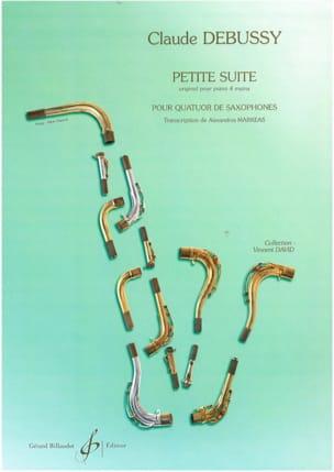 Petite Suite - DEBUSSY - Partition - Saxophone - laflutedepan.com