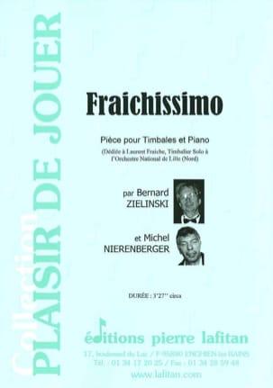 Fraichissimo Zielinski Bernard / Nierenberger Michel laflutedepan