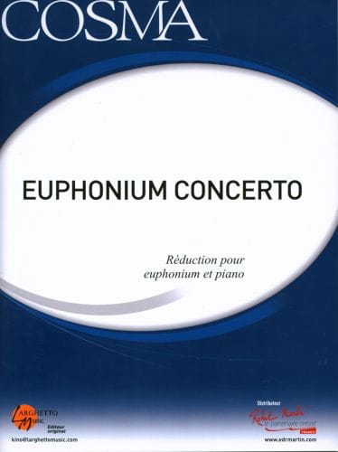 Euphonium Concerto - Vladimir Cosma - Partition - laflutedepan.com