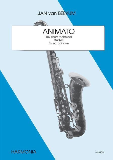 Animato - Jan Van Beekum - Partition - Saxophone - laflutedepan.com