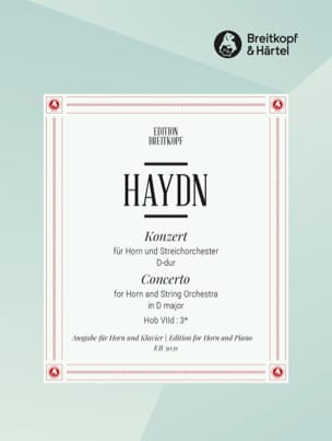 HAYDN - Horn Concerto No. 1 in D Major - Partition - di-arezzo.co.uk