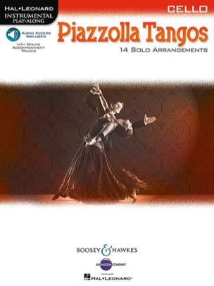 Piazzolla Tangos Astor Piazzolla Partition Violoncelle - laflutedepan