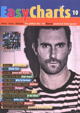 Easy Charts - Volume 10 Partition Pop / Rock - laflutedepan