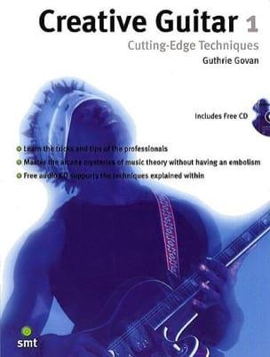 Creative Guitar 1: Cutting-Edge Techniques Guthrie Govan laflutedepan