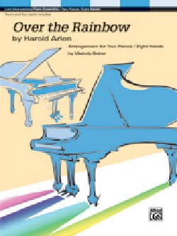 Over the Rainbow Harold Arlen Partition Piano - laflutedepan