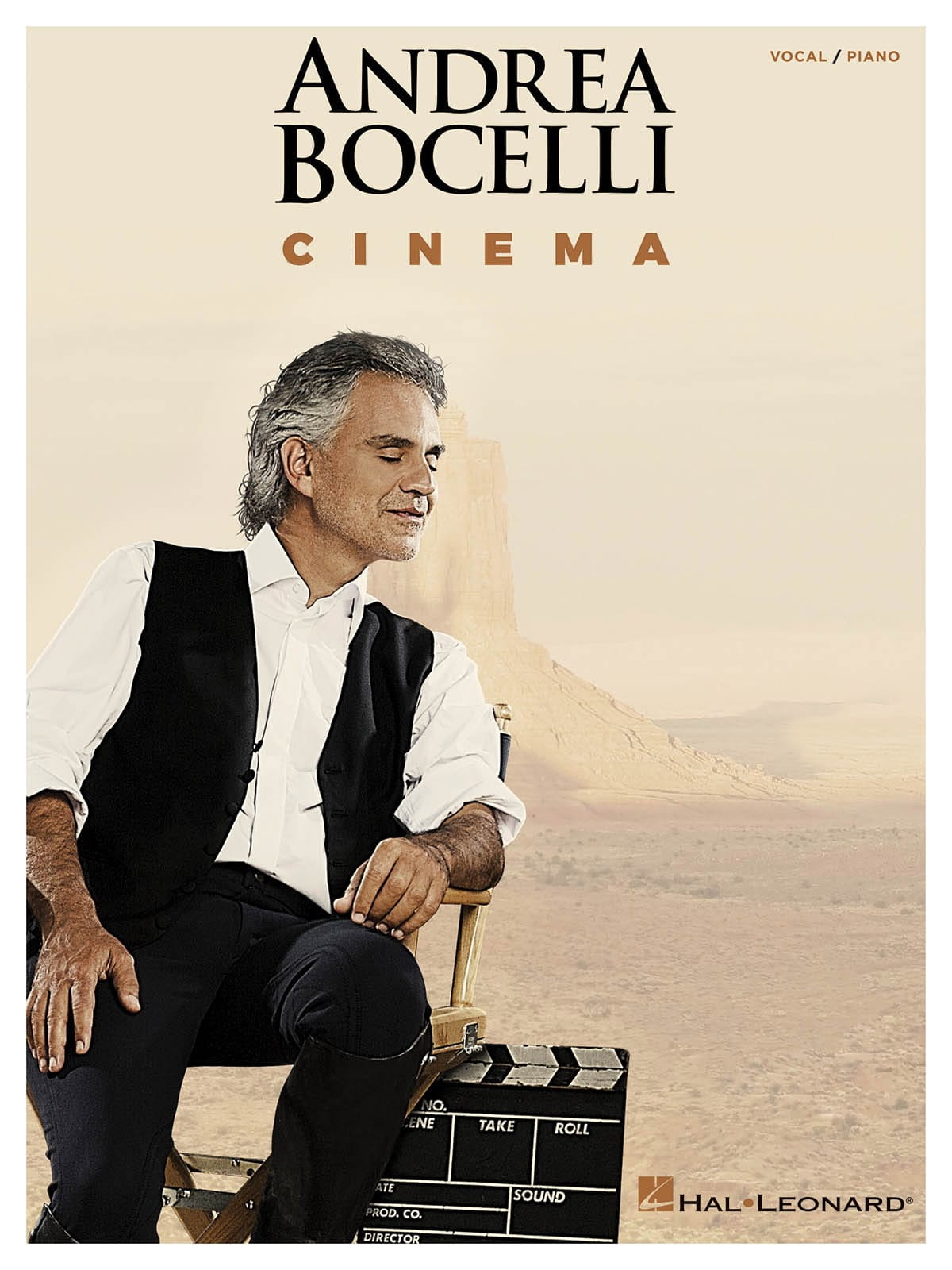 Cinema - Andrea Bocelli - Partition - Pop / Rock - laflutedepan.com