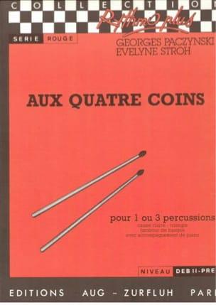 Aux Quatre Coins Paczynski Georges / Stroh Evelyne laflutedepan