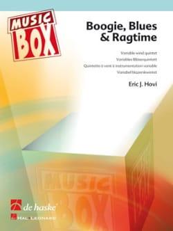 Boogie, blues & ragtime - music box Eric J. Hovi laflutedepan