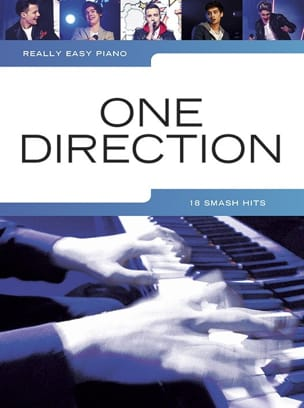 Really easy piano - 18 Smash hits One Direction Partition laflutedepan