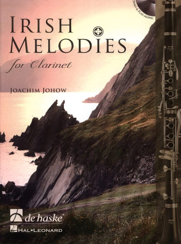 Irish Melodies for Clarinette - Joachim Johow - laflutedepan.com