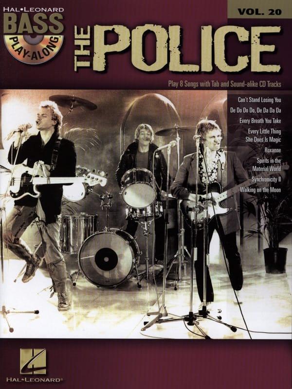 Bass Play-Along Volume 20 -The Police - The Police - laflutedepan.com