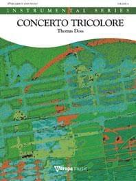 Concerto Tricolore Thomas Doss Partition Trompette - laflutedepan