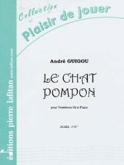 Le Chat Pompon André Guigou Partition Trombone - laflutedepan