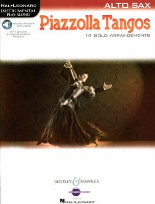 Piazzolla Tangos Astor Piazzolla Partition Saxophone - laflutedepan