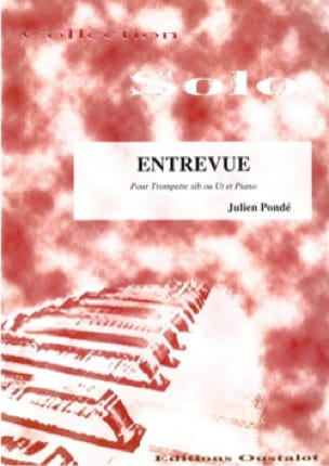 Entrevue - Julien Pondé - Partition - Trompette - laflutedepan.com