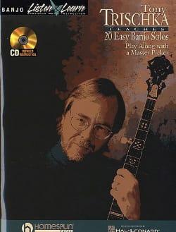 20 Easy Banjo Solos Tony Trischka Partition laflutedepan