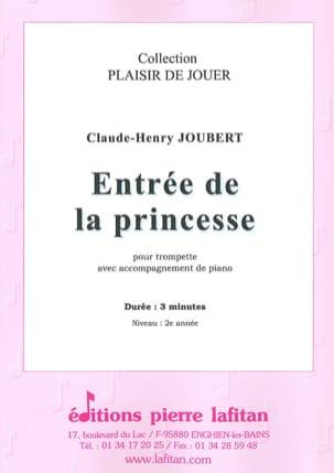 Entrée de la princesse Claude-Henry Joubert Partition laflutedepan