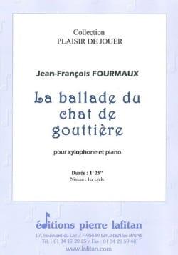 La Ballade du Chat de Gouttière Jean-Yves Fourmeau laflutedepan