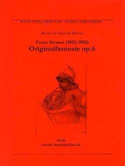 Original Fantasie Opus 6 Franz Strauss Partition Cor - laflutedepan