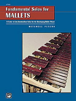 Fundamental Solos For Mallets Mitchell Peters Partition laflutedepan