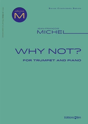 Jean-François Michel - Why not? - Partition - di-arezzo.com