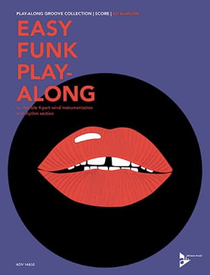Easy Funk Play-Along - Score Ed Harlow Partition laflutedepan