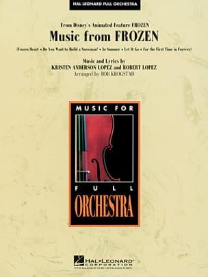Music from Frozen Walt Disney Partition laflutedepan