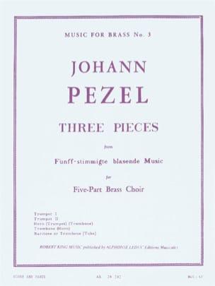 Three Pieces Johann Christoph Pezel Partition laflutedepan