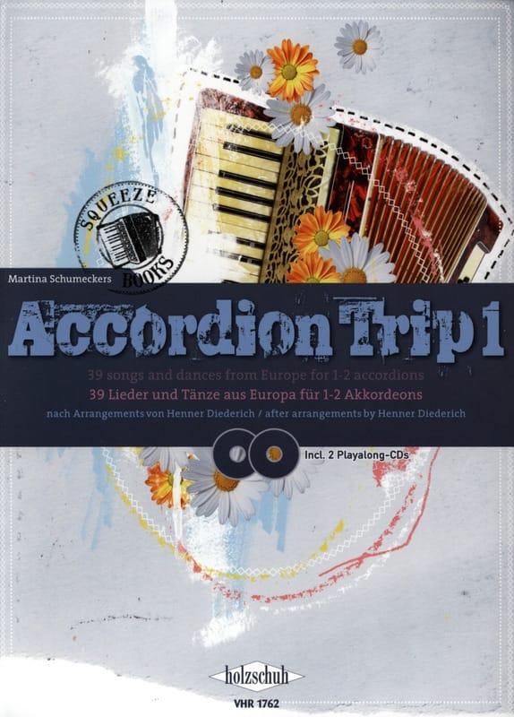Accordion Trip 1 - Martina Schumeckers - Partition - laflutedepan.com