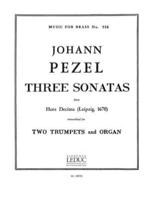 3 Sonatas 25-22-30 Hora Decima - laflutedepan.com