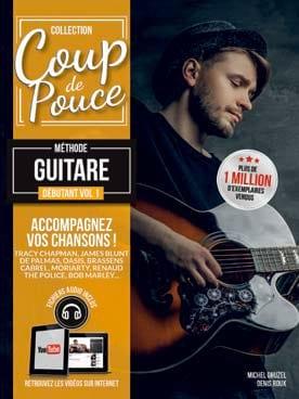 Méthode Guitare Débutant Volume 1 COUP DE POUCE Partition laflutedepan