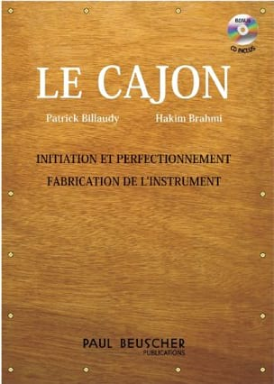 Le Cajon - Billaudy Patrick / BRAHMI Hakim - laflutedepan.com