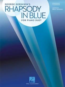 Rhapsody in Blue - Piano 4 Mains GERSHWIN Partition laflutedepan