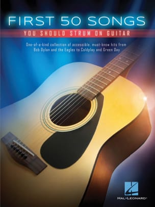 First 50 Songs You Should Strum on Guitar Partition laflutedepan