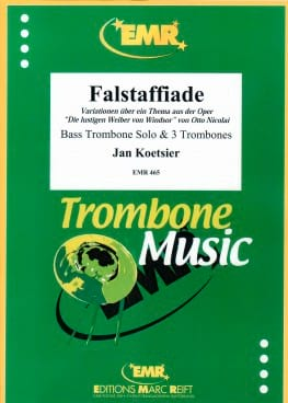 Falstaffiade Jan Koetsier Partition Trombone - laflutedepan