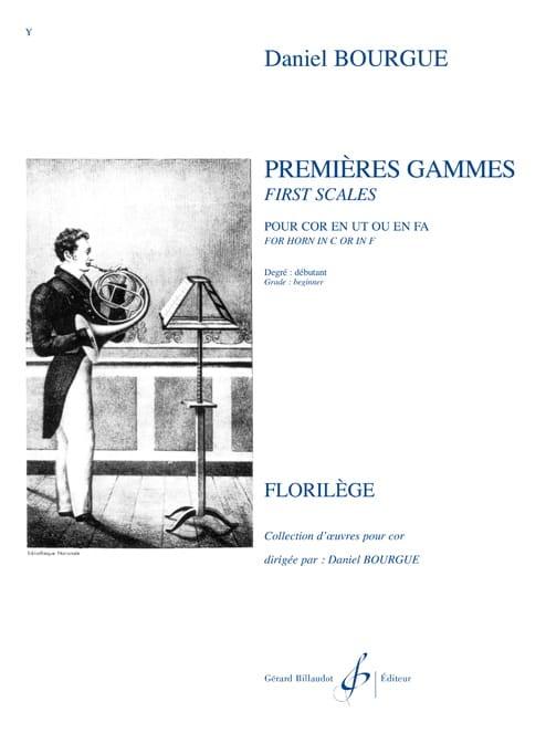Premieres Gammes - Daniel Bourgue - Partition - Cor - laflutedepan.com