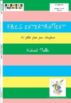 Vibes Entertainment Richard Muller Partition Vibraphone - laflutedepan