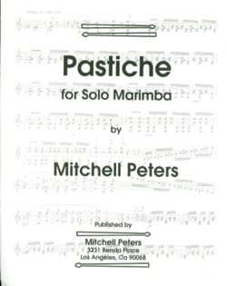 Pastiche Mitchell Peters Partition Marimba - laflutedepan