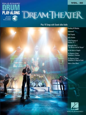 Drum Play-Along Volume 30 Dream Theater Partition laflutedepan
