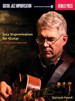 Jazz Improvisation for Guitar, A Harmonic Approach - laflutedepan.com