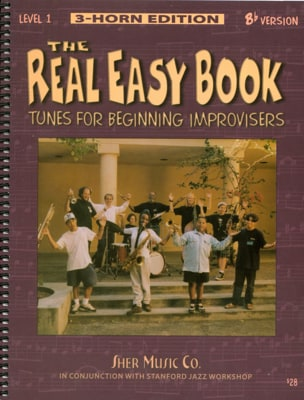 The Real Easy Book Volume 1 Bb Version Partition Jazz - laflutedepan