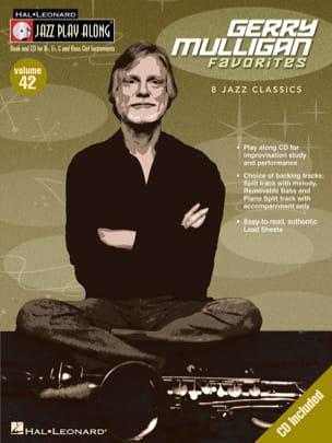 Jazz play-along volume 42 - Gerry Mulligan Gerry Mulligan laflutedepan