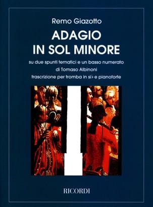 Adagio in Sol Minor Albinoni Tomaso / Giazotto Remo laflutedepan