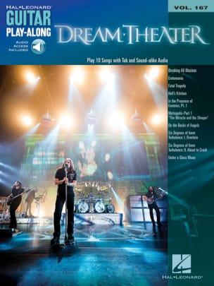 Guitar Play-Along Volume 167 Dream Theater Partition laflutedepan