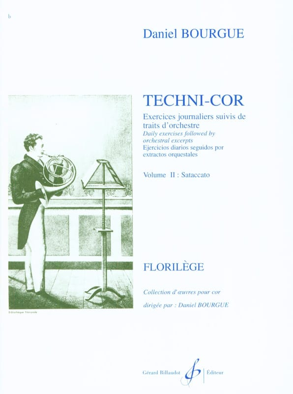 Techni-Cor Volume 2 - Staccato - Daniel Bourgue - laflutedepan.com