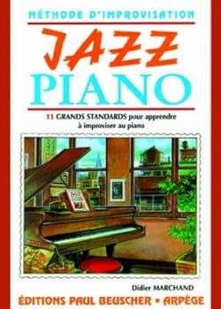 Didier Marchand - Jazz Piano - Partition - di-arezzo.com