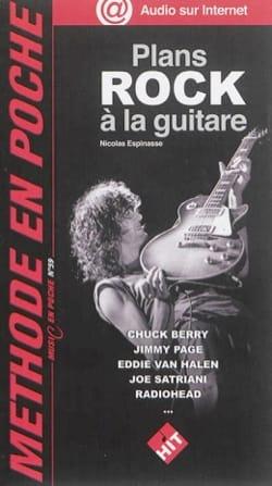 Plans Rock à la guitare Nicolas Espinasse Partition laflutedepan