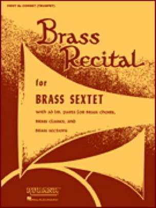Brass Recital - Conducteur - Partition - laflutedepan.com
